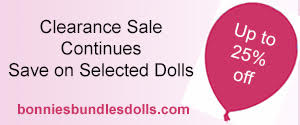 Bonnie's Bundles Dolls Clearance Sale