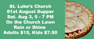 St. Luke's Church 81st August Supper