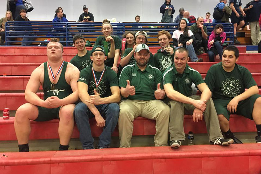 Springfield Wrestlers Bring Home Two JV State Champions In Barre, Vermont