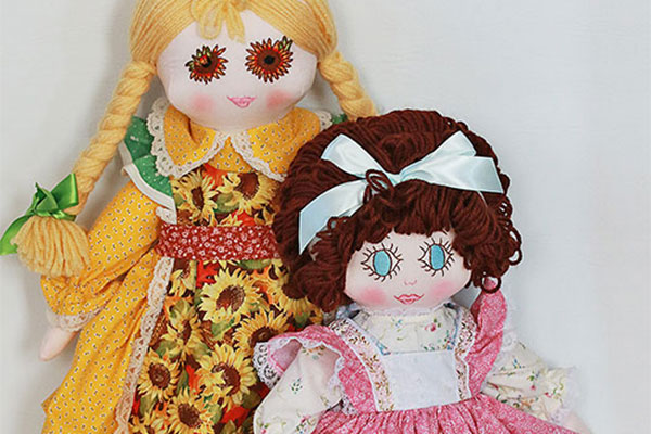 Bonnie's Bundles Dolls at Chester's Whiting Library