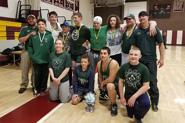 Springfield Wrestlers Sweep Mt Abe Tourney