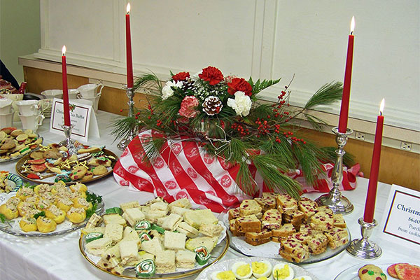 Come St. Luke's Annual Christmas Tea On December 1st
