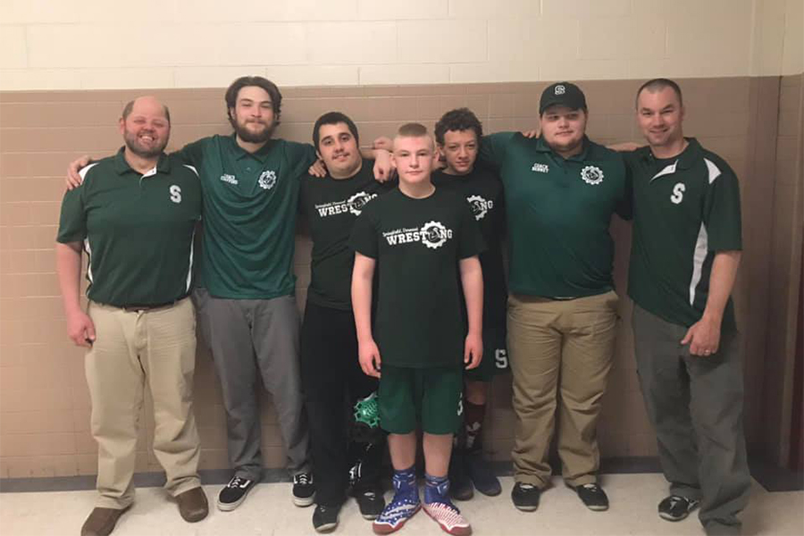 Springfield, Vermont Wrestlers Bring Home Three Silver Medals From JH/JV State Tourney
