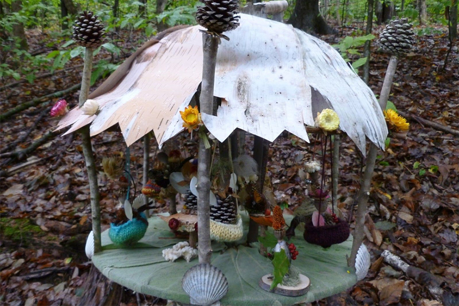 The Fairy House Festival: An Imaginative, Nature-Based Tradition In The Forests of Grafton, Vermont
