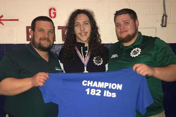 Green Grapplers Of Springfield Wrestling Team Continue To Impress