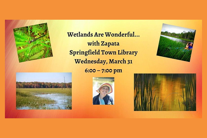 Wetland Are Wonderful... with Zapata Courage