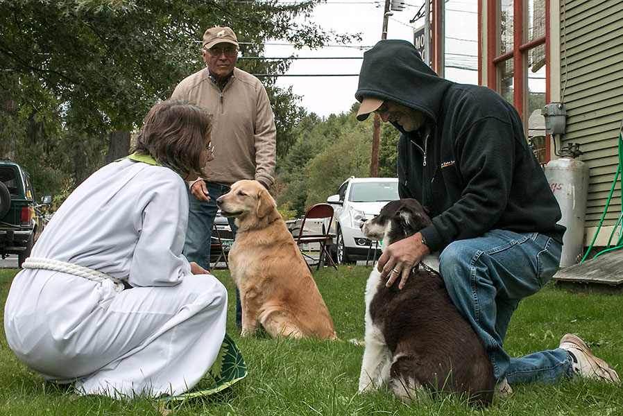 Blessing of the Animals at St. Luke's Church